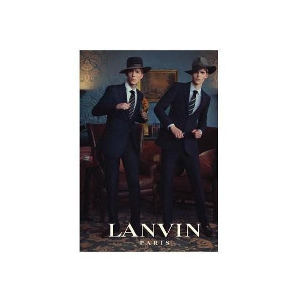 Изображение 12. Рекламные кампании: Cerruti, Lanvin и H&M.. Изображение № 5.