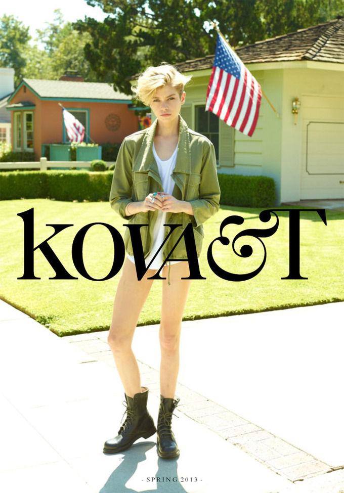 Вышли лукбуки Kova&T, Trends Brands и Vardoui Nazarian. Изображение № 1.