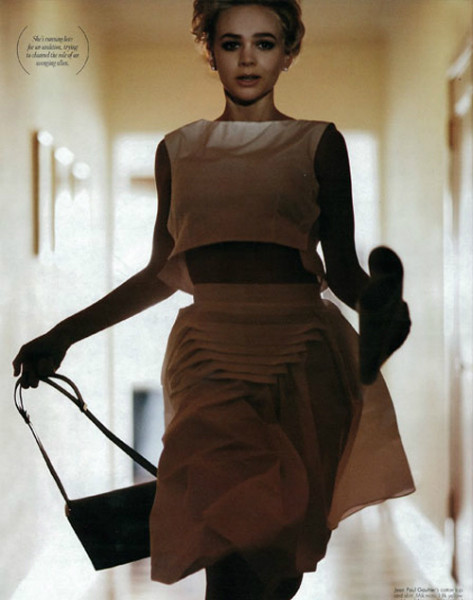 Кэрри Маллиган для W Magazine (январь, 2012). Изображение № 3.