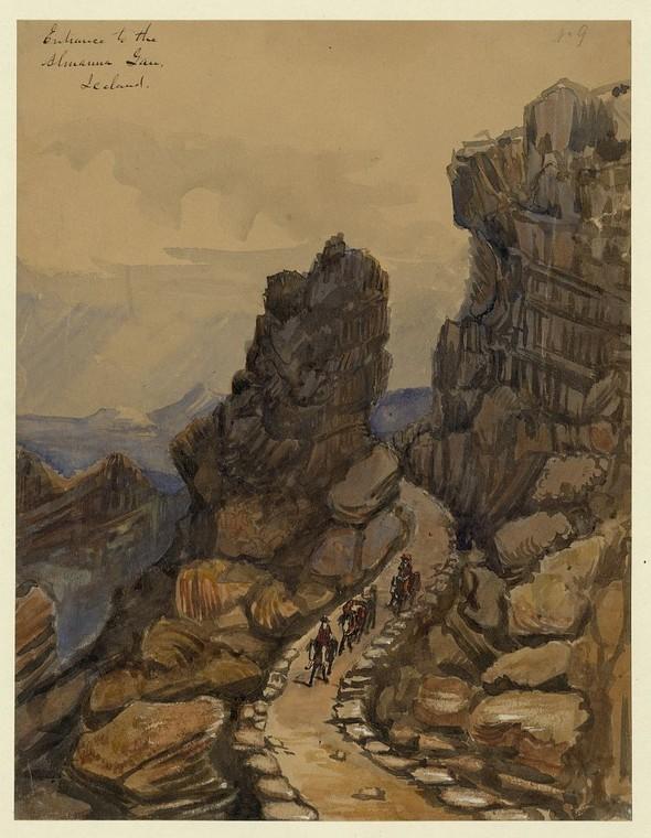 Исландия в середине XIX века: путевые рисунки американского дипломата. Изображение № 14.