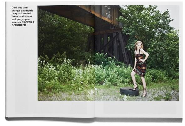 Съёмка: Терри Ричардсон и Линдси Уикссон для Purple Fashion. Изображение № 8.