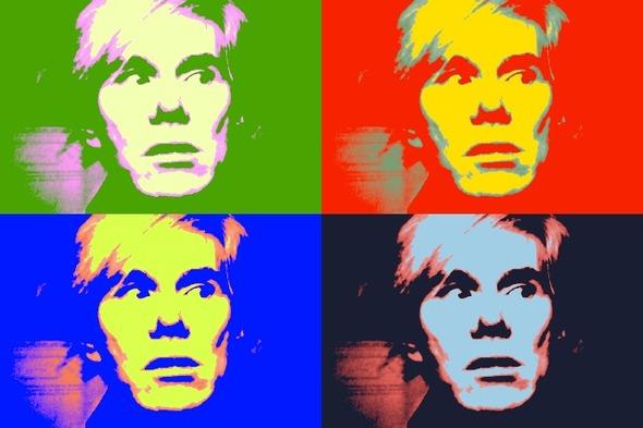 10 портретов Уорхола на веб-камеру . Изображение № 4.
