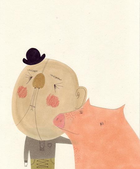 Милые уродцы виллюстрациях Sandra Juto. Изображение № 23.