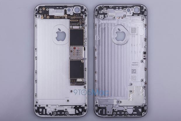 Выложены фото якобы подлинной тыльной стороны iPhone 6s. Изображение № 1.