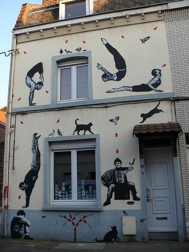 JefAérosol, уличный художник. Изображение № 1.
