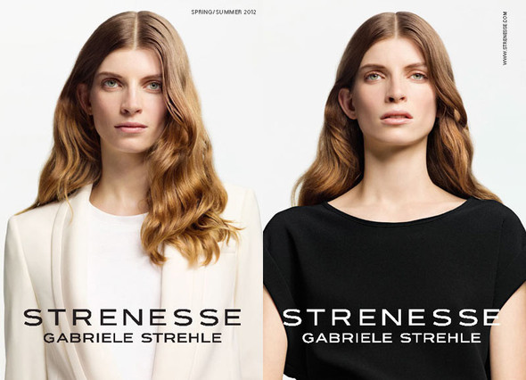 Лукбук: Strenesse Gabriele Strehle Spring 2012. Изображение № 1.