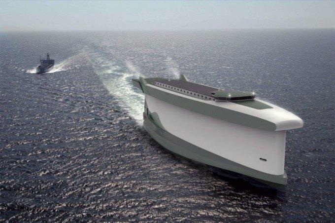 Разработана концепция корабля-паруса. Изображение № 1.