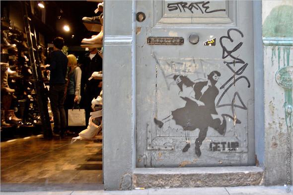 Стрит-арт и граффити Барселоны, Испания. Изображение № 45.