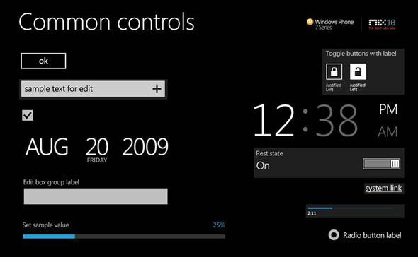 Концепт «Метро» Windows Phone 7 Series. Изображение № 10.