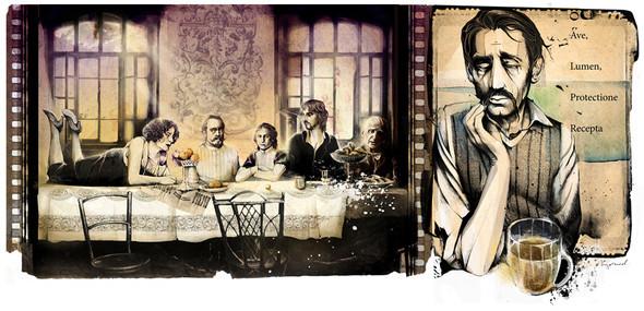 Иллюстрации для журнала и сайта «Сноб». Изображение № 20.