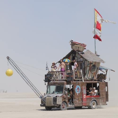 Burning man– art-проект мирового масштаба. Изображение № 3.