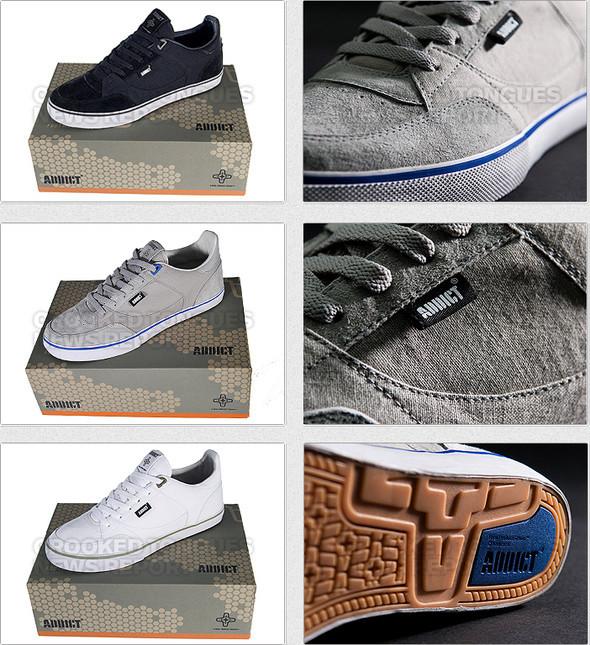 Первая коллекция обуви Addict. Изображение № 2.