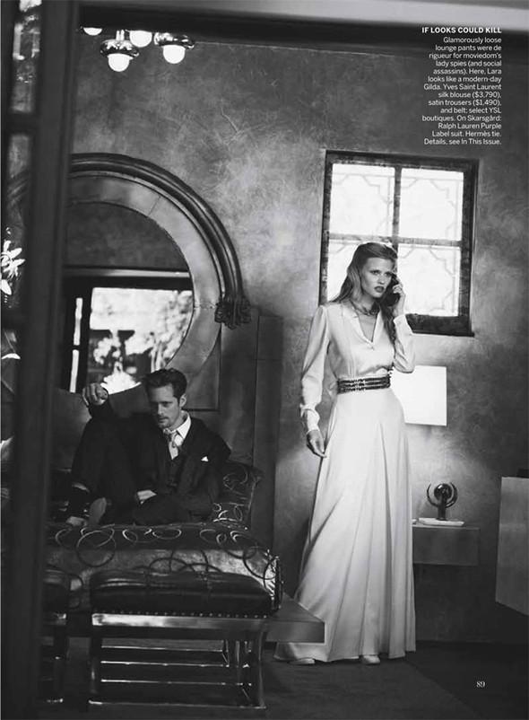 Изображение 47. Съёмки: Harper's Bazaar, Vogue, W и другие.. Изображение № 46.