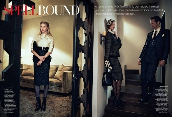 Изображение 49. Съёмки: Harper's Bazaar, Vogue, W и другие.. Изображение № 48.