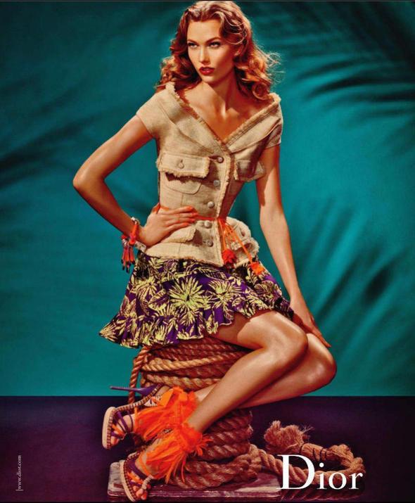 Изображение 11. Рекламные кампании: Bottega Veneta, Jaeger и Dior.. Изображение № 16.