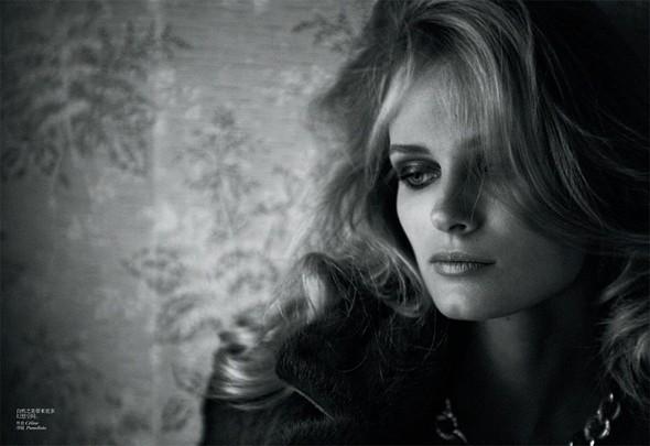 Съёмка: Эдита Вилкевичюте в объективе Питера Линдберга. Изображение № 4.