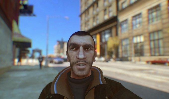 Мод позволяет делать селфи в GTA IV . Изображение № 3.