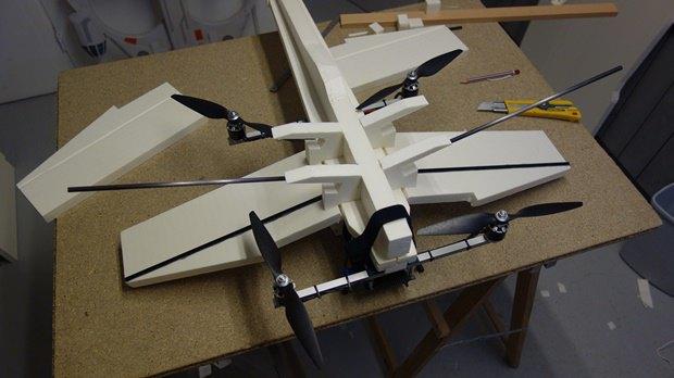 Энтузиаст собрал дрон в виде истребителя X-Wing. Изображение № 8.