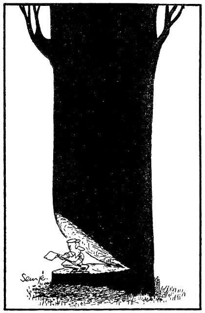 Изображение 6. Мечтатель Jean-Jacques Sempe.. Изображение № 5.