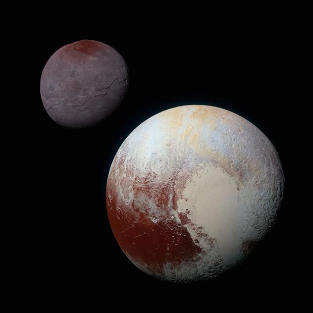 New Horizons передал самые крупные снимки Харона. Изображение № 3.