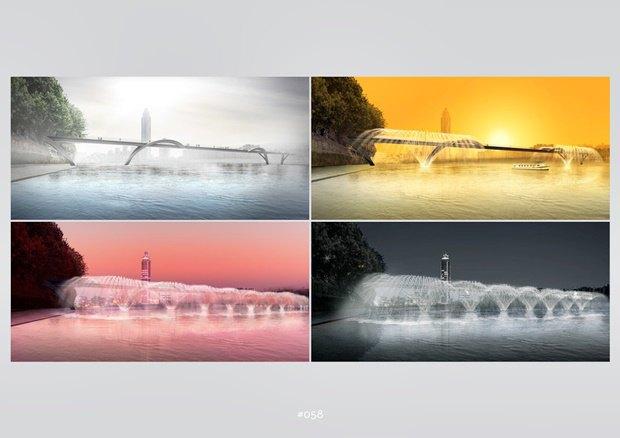 Выложены 74 проекта нового моста через Темзу. Изображение № 16.