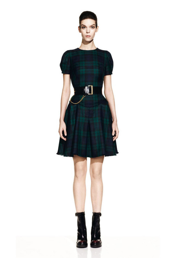McQueen Fall 2012 Lookbook. Изображение № 9.