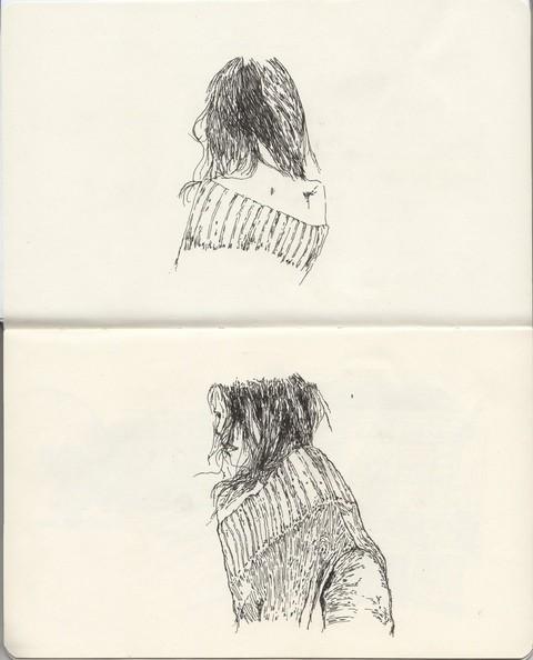 В тонких и резких штрихах: не повседневные иллюстрации. Изображение № 2.