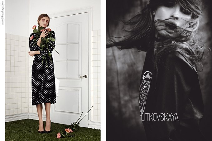 Показана весенне-летняя кампания марки Litkovskaya. Изображение № 3.