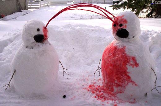 Мужичок - Снеговичек. Изображение № 6.
