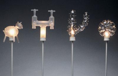 Надувные лампы идругие идеи David Hupton иYve Thelerm. Изображение № 4.