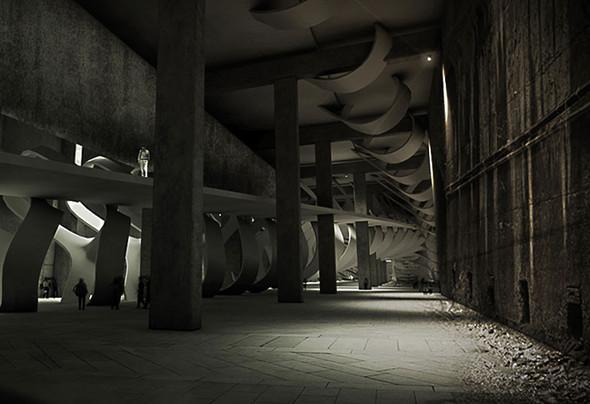 Подземный музей в Антверпене. Изображение № 4.