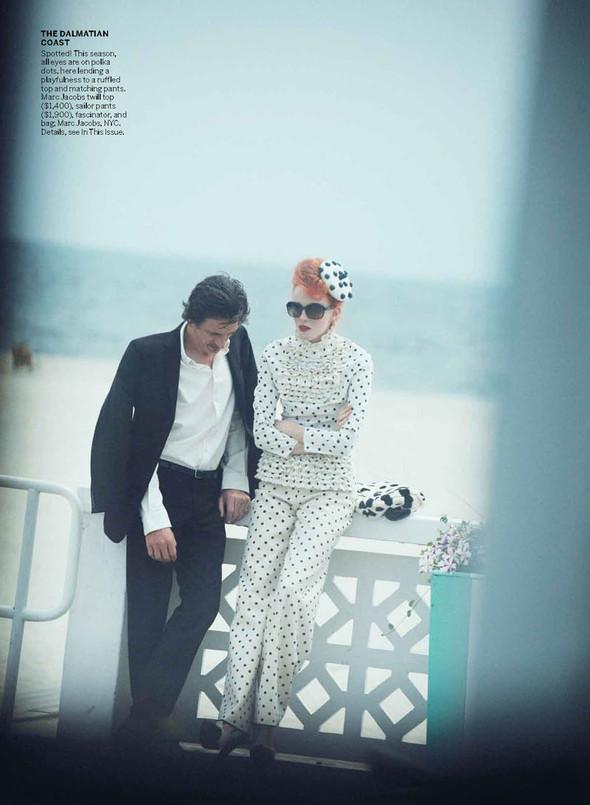 Съёмка: Карен Элсон для Vogue. Изображение № 7.
