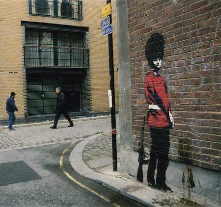 Изображение 7. Арт-терроризм Banksy.. Изображение №9.