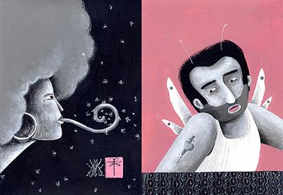 Израильские ине очень иллюстрации ииллюстраторы. Изображение № 11.