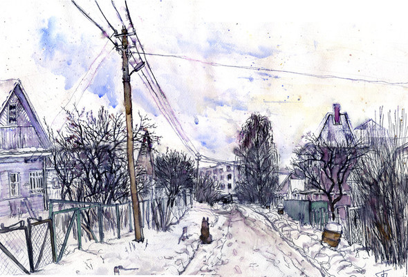 Зима. Изображение № 3.