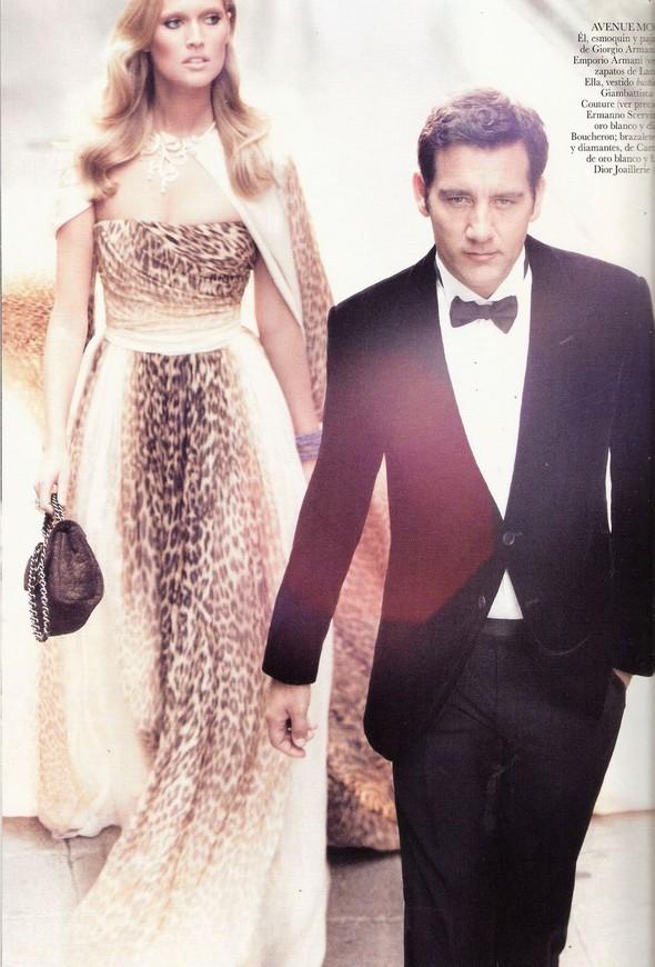 Съемка: Тони Гаррн и Клайв Оуэн для Vogue. Изображение № 11.