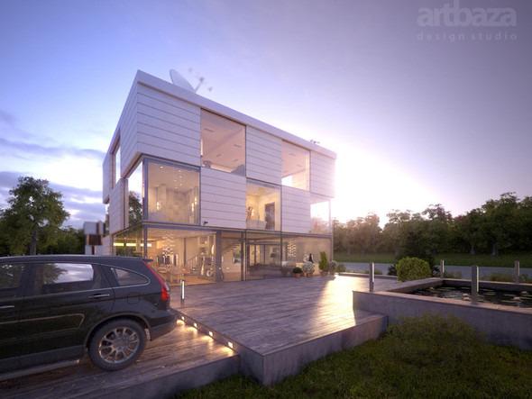 Проект и строительство дома Modul. Изображение № 9.