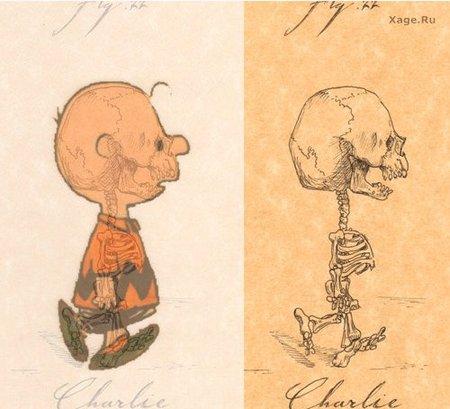 Скелеты мультяшек. Изображение № 3.