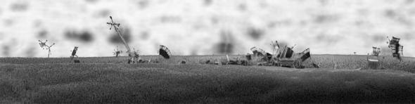 Michael Oliveri. Крошечные пейзажи невидимых миров. Изображение № 5.