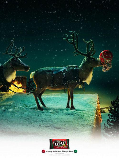 Новогоднее - Рождественский креатив в рекламе. Изображение № 25.