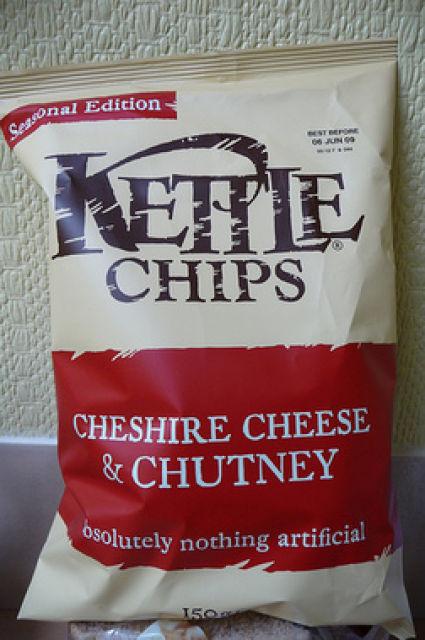 Несъедобное съедобно - какие бывают чипсы. Изображение № 81.