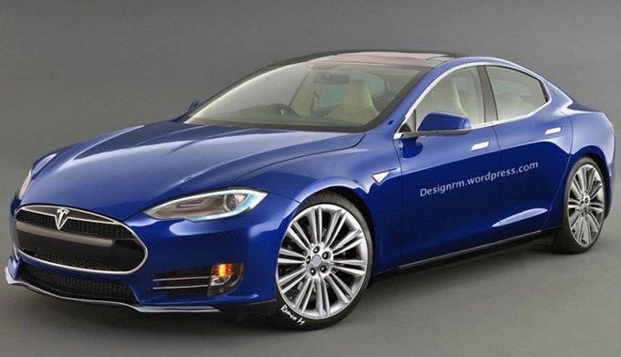 Концепт Tesla Model E. Изображение № 1.