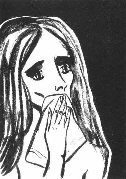 Надя Рушева. Маленькая принцесса. Изображение № 15.
