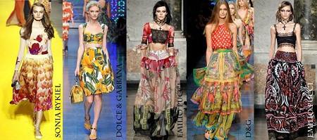 Модные юбки весна-лето 2012. Изображение № 8.