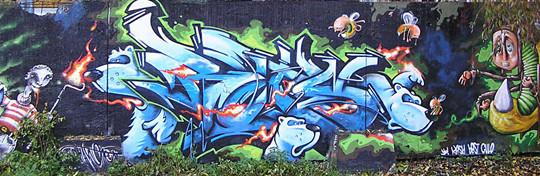 Интервью с граффити райтером Stan One. Изображение № 8.