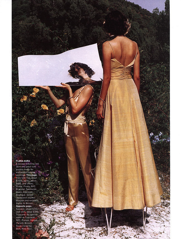 Архивная съёмка: Тим Уокер для Harper's Bazaar, 2000. Изображение № 7.