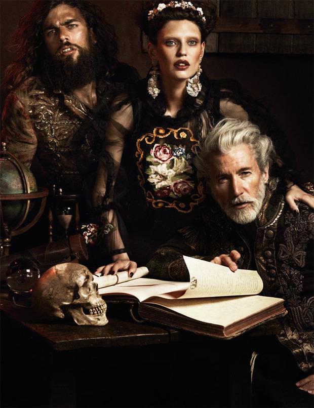 Вышли новые съемки Vogue, i-D, 10 и Interview. Изображение № 34.