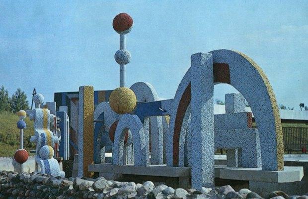 Бубнов В.А. — Танцевальная площадка в Тольятти, 1982—1983. Изображение № 3.