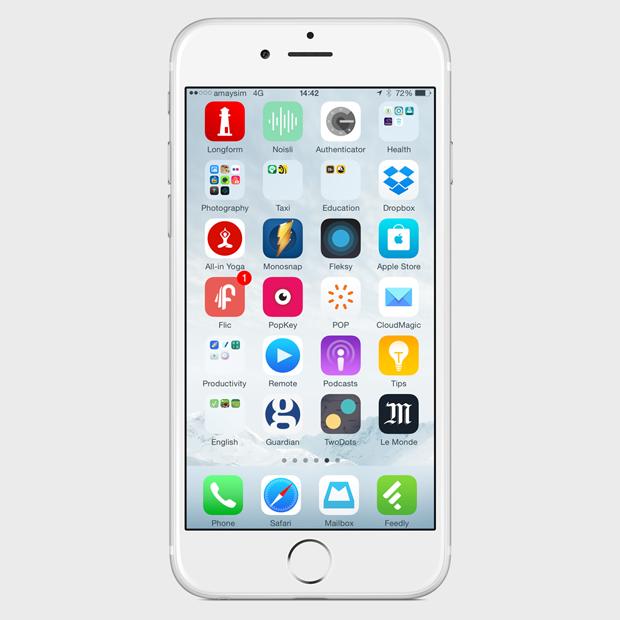 Экран моего смартфона: UX-архитектор Анна Заболотная. Изображение № 5.