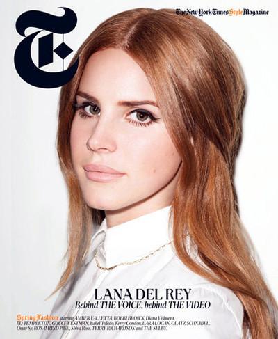 Лана Дель Рей снялась у Терри Ричардсона для журнала T Magazine. Изображение № 1.